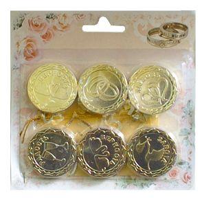 Монеты свадебные сувенирные