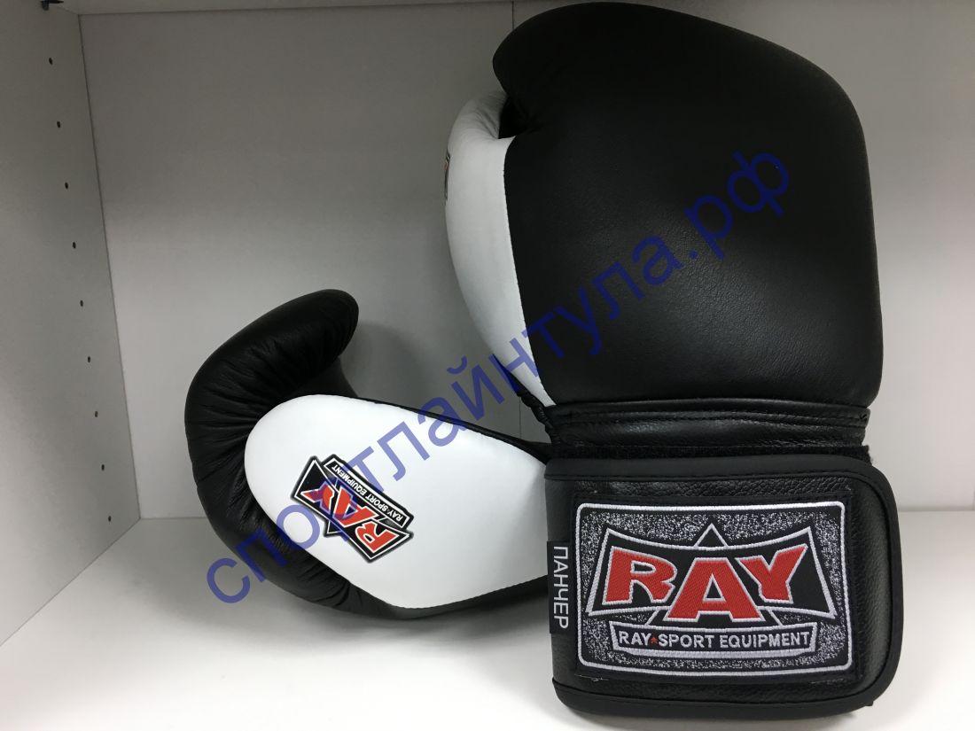 Перчатки боксёрские ПАНЧЕР кожа 12 oz лБ53К12