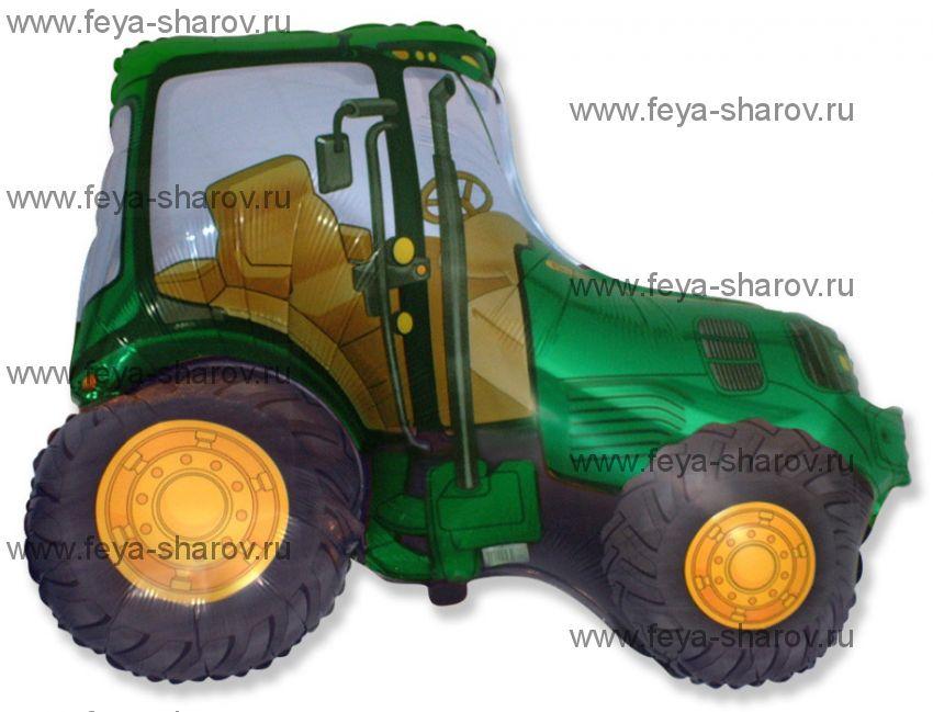 Шар трактор 97 см