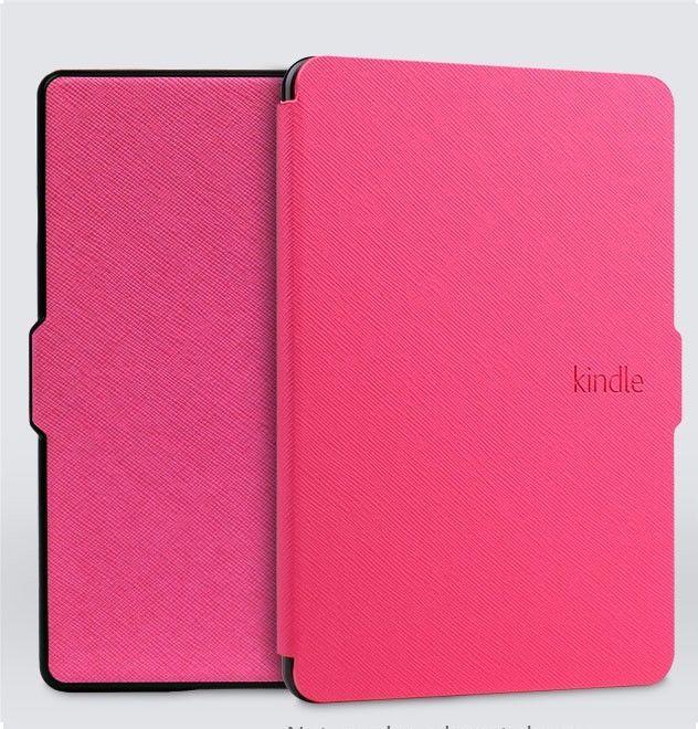 Чехол-обложка Texture для Amazon Kindle 8 (Ярко Розовый)