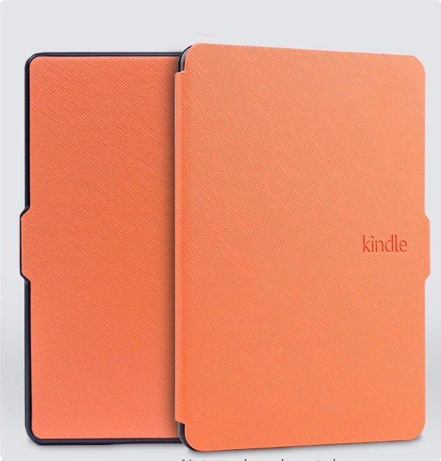 Чехол-обложка Texture для Amazon Kindle 8 (Оранжевый)