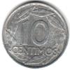 Испания 10 сентимо 1959