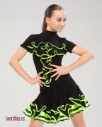 Костюм для латиноамериканских танцев, интернет-магазин Sportilius