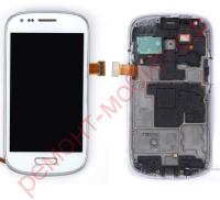Дисплей для Samsung Galaxy S3 mini ( GT-I8190 ) в сборе с тачскрином