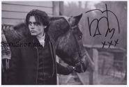 Автограф: Джонни Депп. Сонная Лощина
