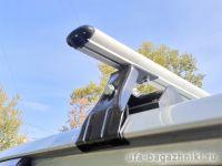 Универсальный багажник на крышу Муравей Д-2, аэродинамические дуги