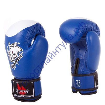 Боксерские перчатки UBG-01 PVC Blue