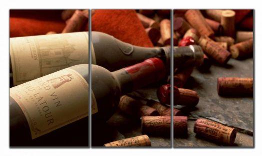 Модульная картина Старинное Вино
