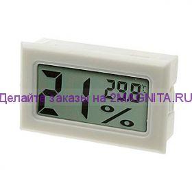 Термометр с влажностью HT-2 белый, встроенный датчик