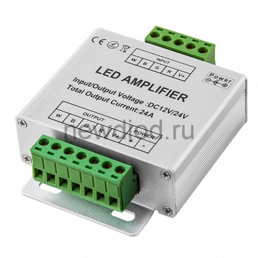 RGBW-усилитель 24A 12-24V 288-576W
