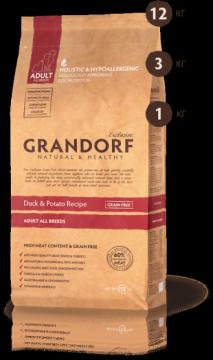 ГРАНДОРФ утка с картофелем для всех пород (GRANDORF Duck&Potato)