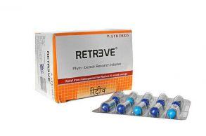 Капсулы Retreve, Atrimed,климактерические приливы,перепады настроения,100 капс