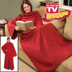 Одеяло - плед - халат с рукавами Cuddle Blanket+ (Кудл Бланкет+)