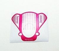 Формы для моделирования ногтей бумажные 25шт (машинка)