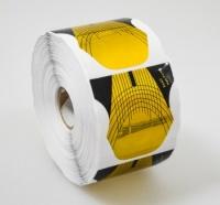 Формы для моделирования бумажные 500шт (золото, Exact)