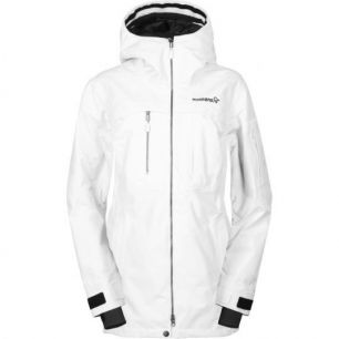 Norrona Roldal Gore-Tex PrimaLoft Jacket Women Snowdrop