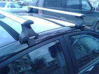 Багажник на крышу Chevrolet Cruze, Атлант, крыловидные дуги, опора Е