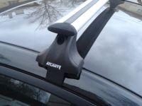 Багажник на крышу Ford Fiesta VII, Атлант, крыловидные дуги, опора Е