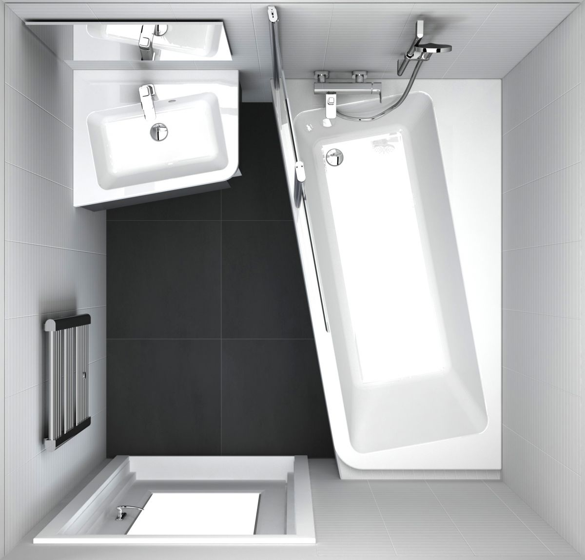 Ванна акриловая Ravak В 10° 160х95 белая