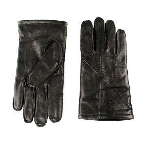 Перчатки мужские 02204516713_01; кожа; черный (Размер 9,5)