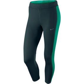 Женские леггинсы 3/4 Nike Dri-Fit Essential Crop тёмно-серые