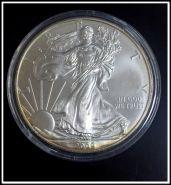 1 доллар Шагающая свобода (Ag999 серебро), 2009г. в капсуле