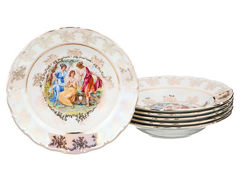 "Набор суповых тарелок ""Мадонна"", 23 см, 6 шт."