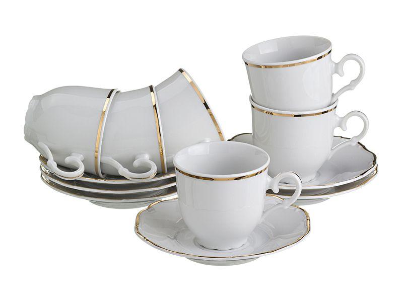"""Кофейный набор на 6 персон """"Офелия 662"""", 12 пр."""