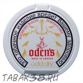 Табак жевательный Chew Bags Odens Cold Extreme Dry Portion