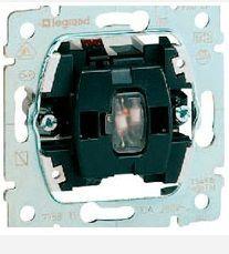Переключатель Galea Life на 2 направления с подсветкой и с нейтралью (арт.775846)