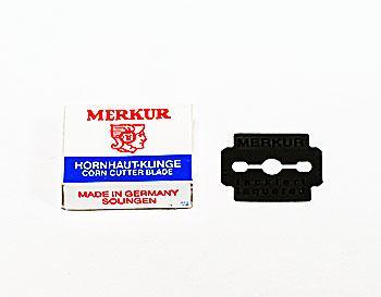 Запасное лезвие для педикюрного станка Merkur уп/10шт