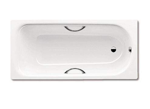Ванна стальная Kaldewei Saniform Plus  Star 337 180x80 anti slip, easy slip с отверстиями под ручки