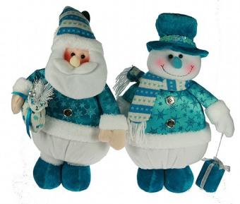 Дед Мороз и Снеговик - новогодние сувениры