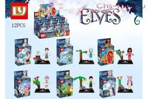 6 конструкторов LY Elves 1012-6 (аналог Lego Elves)