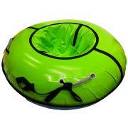 Тюбинг с пластиковым дном серии Профи 105 см, цвет салатовый