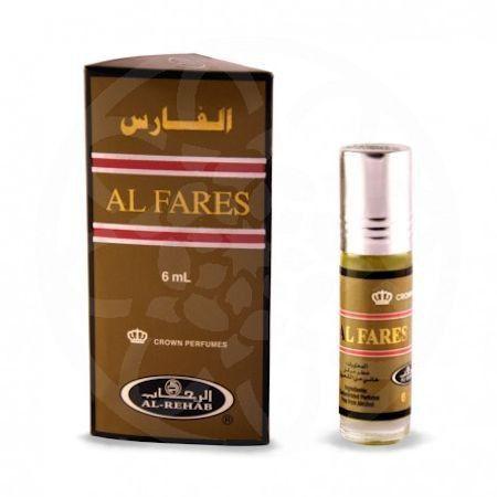 Арабские масляные духи Al Fares | Аль Фарес | 6 мл | Al-Rehab | Мужской