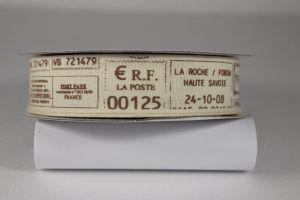 `Лента хлопковая с рисунком, ширина 22 мм