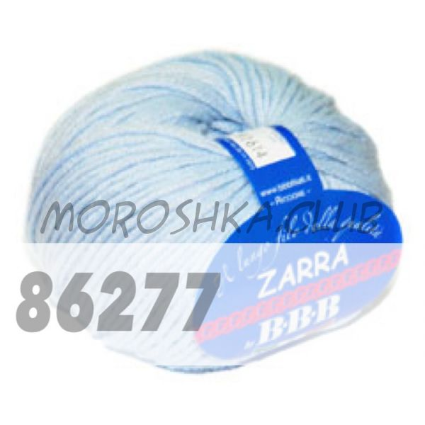 Светло-голубой Zarra BBB (цвет 86277)