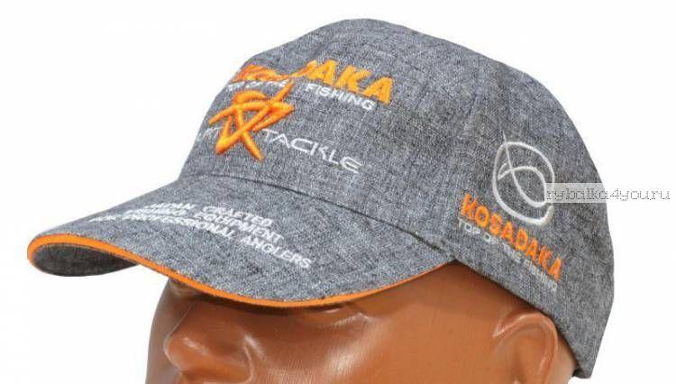 Бейсболка Kosadaka Smart Tackle (лен серый) CBCSTGRL