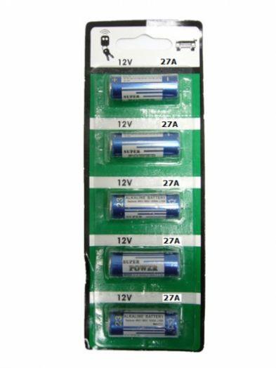 Батарейка А27 алкалиновая Орбита 27А BR-5 (5 шт. на блистере)