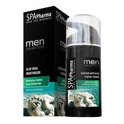 Увлажняющий крем с алое для мужчин SpaPharma (Спа Фарма) 100 мл