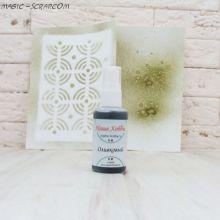 Спреевая краска для скрапбукинга, цвет оливковый