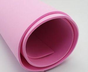 `Фоамиран Иранский, толщина 2 мм, размер 60х70 см, цвет тёмно-розовый