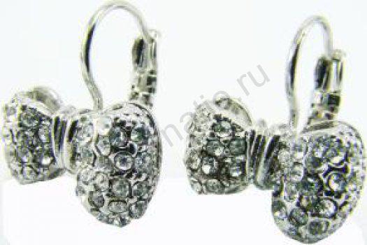Серьги Taya LX. T-B-6223-EARR-RH.CRYSTAL