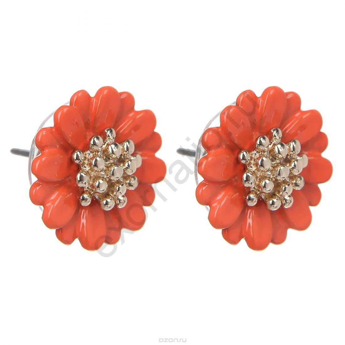 Серьги Taya LX. T-B-5788-EARR-GL.ORANGE