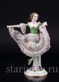 Танцовщица, кружевная, E & A Muller, Германия, 1920-30 гг