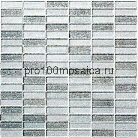 Silver Light стекло Мозаика серия CRYSTAL, размер, мм: 300*305