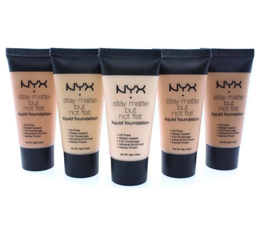 Матирующий тональный крем NX Stay matte but not flat