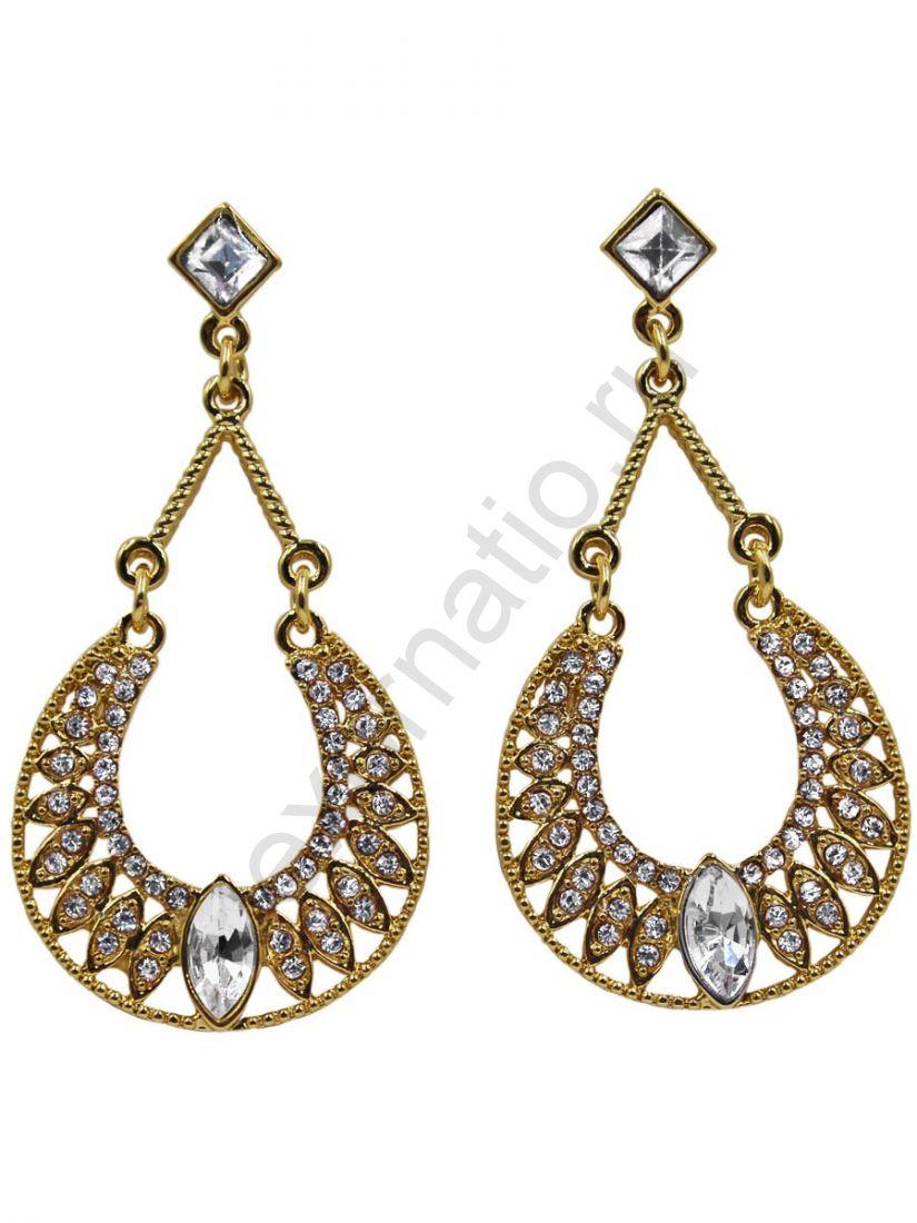 Серьги Taya LX. 11328-EARR-GOLD