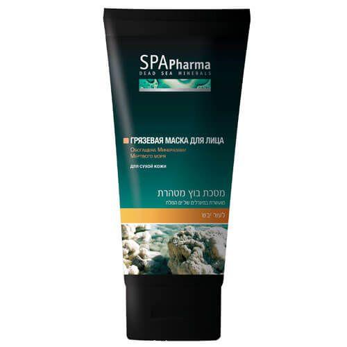 Грязевая маска для лица для сухой кожи SpaPharma (Спа Фарма) 100 мл
